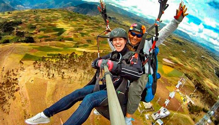 Tour Vuelo en Parapente Cusco – Medio Dia