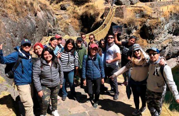 Puente Inca Q'eswachaka y Machu Picchu Tour 2 dias / 1 noche